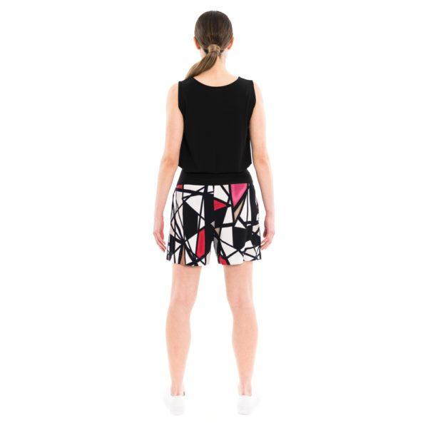 Sommer Shorts mit geometrischem Print von ulliKo